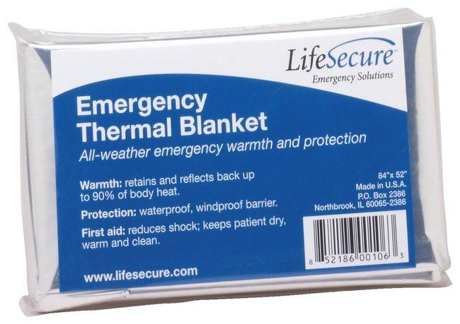 Emergency Thermal Blanket  Emergency Thermal Blanket; 30 Blankets/Cs.:Teaching