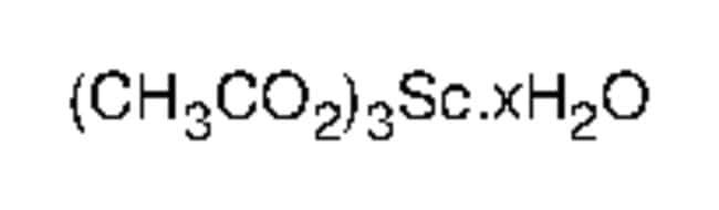 Alfa Aesar  Scandium(III) acetate hydrate, 99.9% (metals basis)
