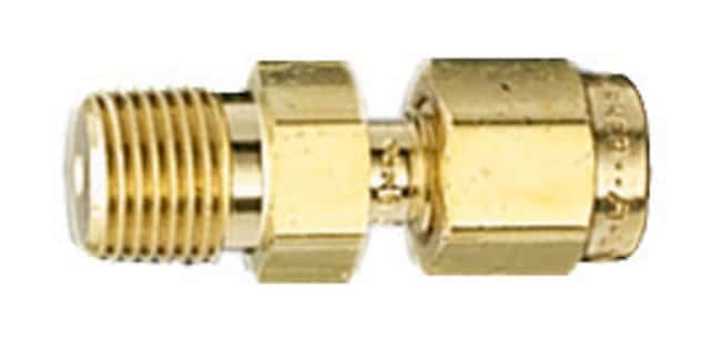 Restek™Tube and Pipe Fittings for GC Equipment Brass Nut and Ferrule Fitting Set; 1/8 in.; Pack of 20 Restek™Tube and Pipe Fittings for GC Equipment