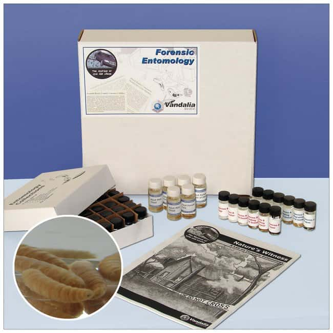 Lyle And Louise Nature S Witness Forensic Entomology Curriculum Kit Teaching Fisher Scientific