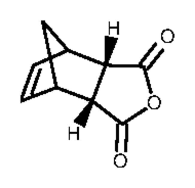 synthesis of cis norbornene endo dicarboxylic anhydride Carbic anhydride is an intermediate used to prepare endo-2,3-norbornanedicarboximide (n661225) which is used to prepare piperidinylbenzisoxazole antipsychotic drugs dangerous goods info: na.