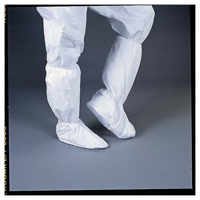 DuPont Tyvek IsoClean Serged-Seam Economy Boot Covers:Gloves, Glasses and