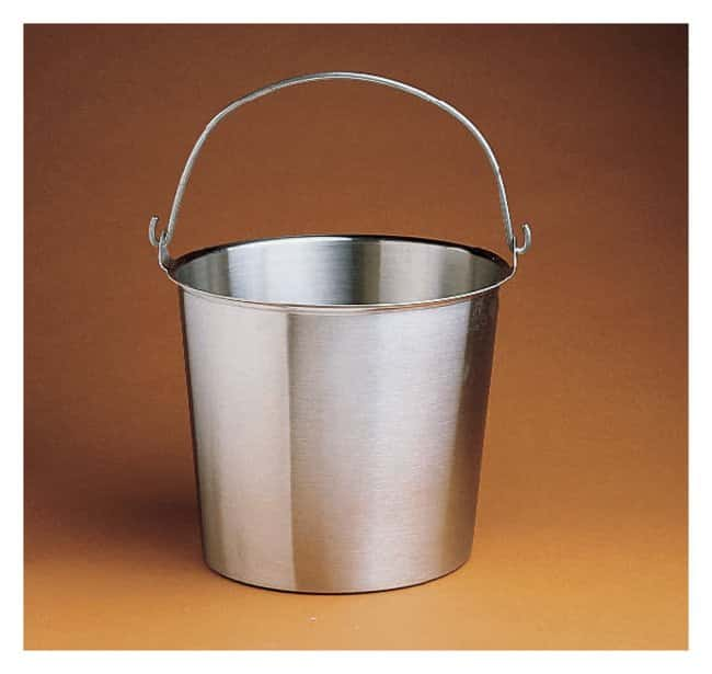 Medegen Stainless-Steel Buckets Capacity: 23 qt.:Wipes, Towels and Cleaning