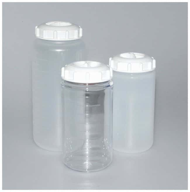 Fisherbrand™ Plastic Bottles with Caps