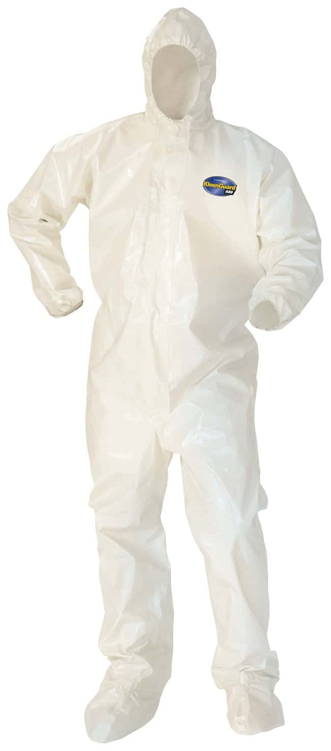 Kimberly-Clark Professional™ KleenGuard™ A80 Chemical Permeation and Jet Liquid Protection Coveralls