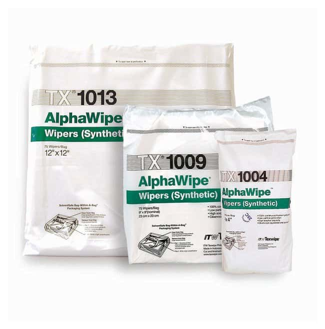 Texwipe AlphaWipe Polyester Wipers:Gloves, Glasses and Safety:Controlled