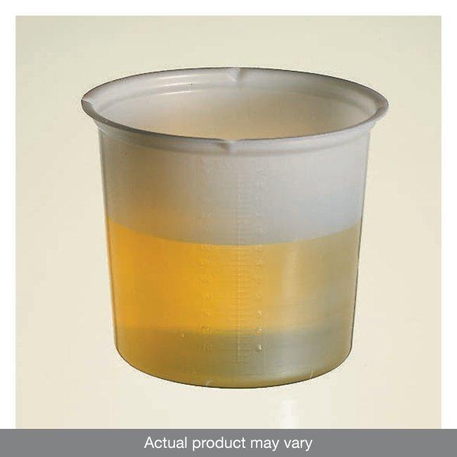 Fisherbrand™Graduated Polystyrene Beakers 150mL; Base Diameter: 2.17 in.; Top Diameter: 3.25 in.; Height: 2.56 in. Fisherbrand™Graduated Polystyrene Beakers