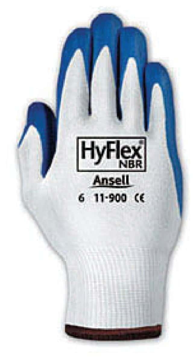 Ansell™ HyFlex™ NPR Nitrile-Dipped Gloves
