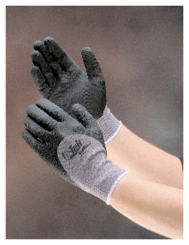 PIP MaxiFlex Nylon, Micro-Foam Nitrile Grip Gloves: Dotted Palm Dotted