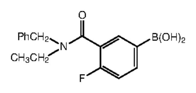 3-[Benzyl(ethyl)carbamoyl]-4-fluorobenzeneboronic acid, 97%, Alfa Aesar™ 250mg Products