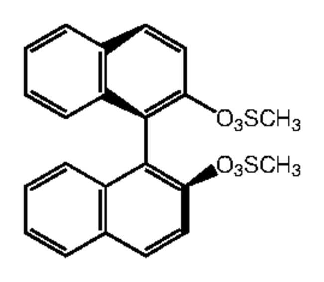 Alfa Aesar™(S)-(+)-1,1'-Bi(2-naphthyl) dimethanesulfonate, 97%