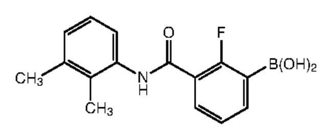 Alfa Aesar™3-(2,3-Dimethylphenylcarbamoyl)-2-fluorobenzeneboronic acid, 97%: Inicio