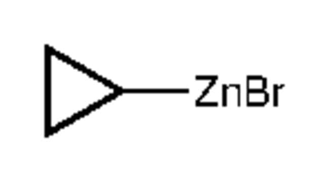 Alfa Aesar™Cyclopropylzinkbromid, 0.5M in THF, verpackt unter Argon in wiederverschließbaren ChemSeal™ Flaschen 50ml Organozinc Reagents