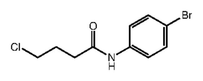 Alfa Aesar™N-(4-Bromophenyl)-4-chlorobutyramide, 97% 500mg Ver productos