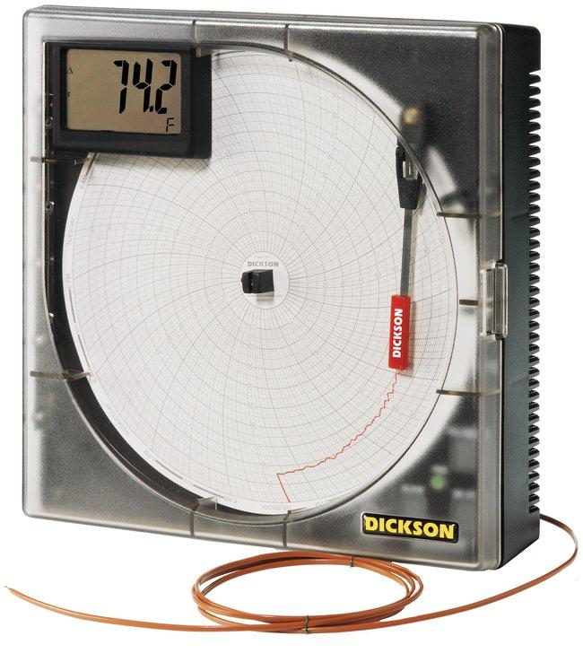 Dickson K-Thermocouple Sensing Chart Recorders:Recorders