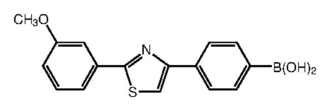 4-[2-(3-methoxyphenyl)-4-thiazolyl]benzolboronsäure, 97%, Alfa Aesar™ 5g 4-[2-(3-methoxyphenyl)-4-thiazolyl]benzolboronsäure, 97%, Alfa Aesar™