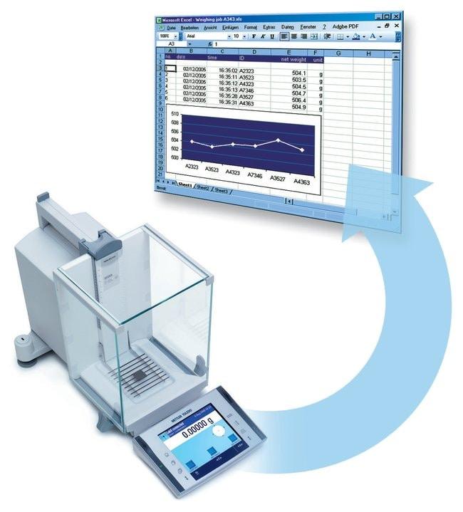 Mettler ToledoLabX Direct Balance Software LabX Direct Balance Software:Balances