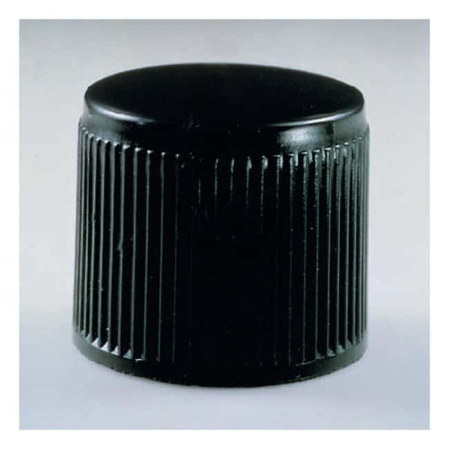 Corning™ Black Phenolic Threaded Screw Caps with PTFE Liners