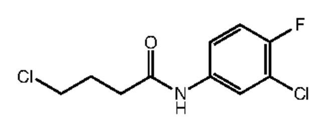 Alfa Aesar™4-Chloro-N-(3-chloro-4-fluorophenyl)butyramide, 97% 500mg Ver productos