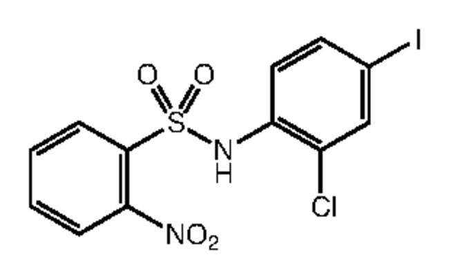 Alfa Aesar™N-(2-Chloro-4-iodophenyl)-2-nitrobenzenesulfonamide, 97% 250mg Ver productos