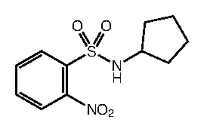 Alfa Aesar™N-Cyclopentyl-2-nitrobenzenesulfonamide, 97% 1g Ver productos
