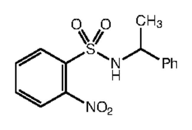 Alfa Aesar™2-Nitro-N-(1-phenylethyl)benzenesulfonamide, 97%: Inicio