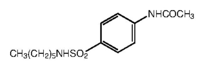 Alfa Aesar™4'-(n-Hexylsulfamoyl)acetanilide, 97% 250mg Ver productos