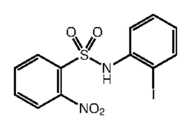 Alfa Aesar™N-(2-Iodophenyl)-2-nitrobenzenesulfonamide, 97% 1g Ver productos