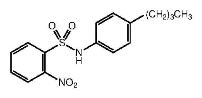 Alfa Aesar™N-(4-n-Butylphenyl)-2-nitrobenzenesulfonamide, 97% 1g Ver productos