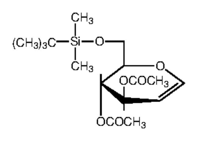 Alfa Aesar™3,4-Di-O-acetyl-6-O-tert-butyldimethylsilyl-D-glucal, 97%
