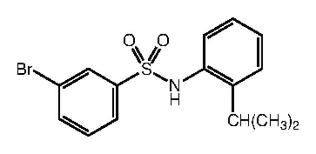 Alfa Aesar™3-Bromo-N-(2-isopropylphenyl)benzenesulfonamide, 97%: Inicio