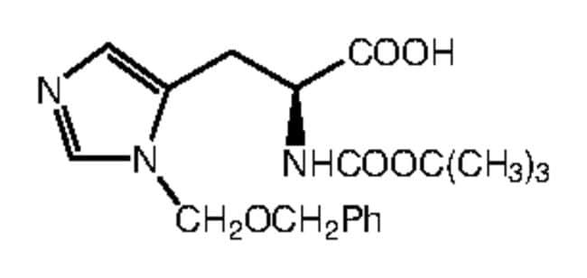 Alfa Aesar™N-Boc-3-benzyloxymethyl-L-histidine, 98%: Biochemicals Chemicals