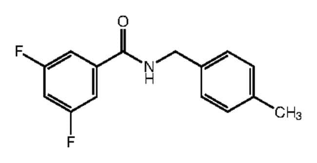 Alfa Aesar™3,5-Difluoro-N-(4-methylbenzyl)benzamide, 97% 1g Ver productos