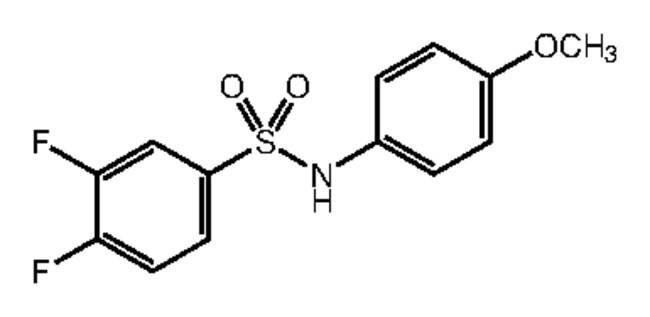 Alfa Aesar™3,4-Difluoro-N-(4-methoxyphenyl)benzenesulfonamide, 97% 250mg Ver productos
