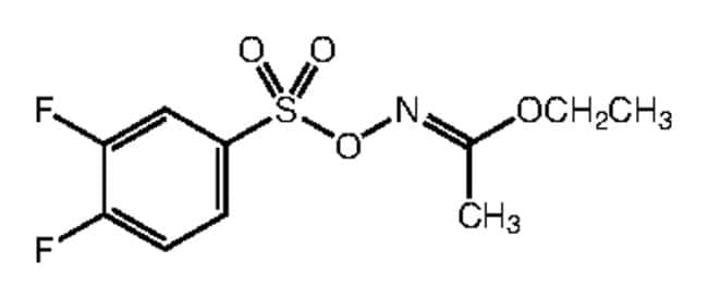 Alfa Aesar™Ethyl O-(3,4-difluorobenzenesulfonyl)acetohydroxamate, 97% 1g Ver productos