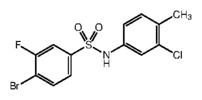 Alfa Aesar™4-Bromo-N-(3-chloro-4-methylphenyl)-5-fluorobenzenesulfonamide, 97% 1g Ver productos