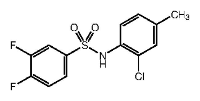 Alfa Aesar™N-(2-Chloro-4-methylphenyl)-3,4-difluorobenzenesulfonamide, 97% 1g Ver productos