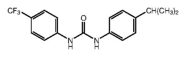 1-(4-Isopropylphenyl)-3-[4-(trifluoromethyl)phenyl]urea, 97%, Alfa Aesar™ 1g Ver productos