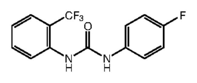 1-(4-Fluorophenyl)-3-[2-(trifluoromethyl)phenyl]urea, 97%, Alfa Aesar™ 250mg Ver productos