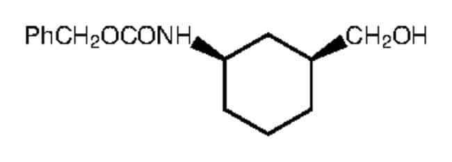 Alfa Aesar  cis-3-(Benzyloxycarbonylamino)cyclohexanemethanol, 97%