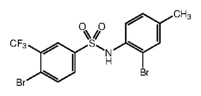 Alfa Aesar™4-Bromo-N-(2-bromo-4-methylphenyl)-3-(trifluoromethyl)benzenesulfonamide, 97% 250mg Ver productos