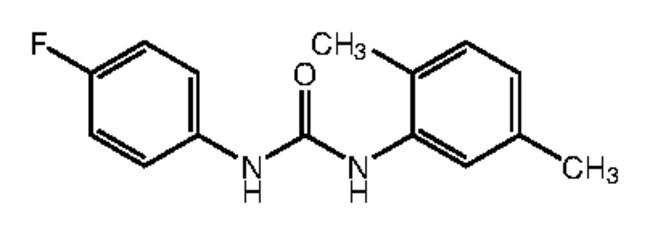 Alfa Aesar™1-(2,5-Dimethylphenyl)-3-(4-fluorophenyl)urea, 97% 1g Ver productos