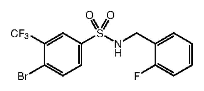 Alfa Aesar™4-Bromo-N-(2-fluorobenzyl)-3-(trifluoromethyl)benzenesulfonamide, 97% 5g Ver productos