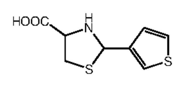Alfa Aesar™2-(3-Thienyl)thiazolidine-4-carboxylic acid, 97% 250mg Ver productos