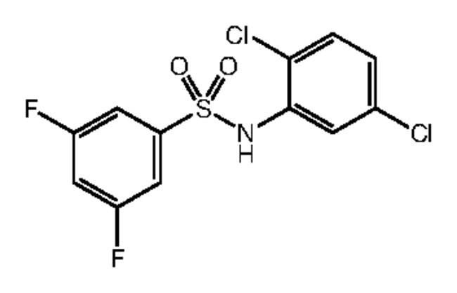 Alfa Aesar™N-(2,5-Dichlorophenyl)-3,5-difluorobenzenesulfonamide, 97% 1g Ver productos
