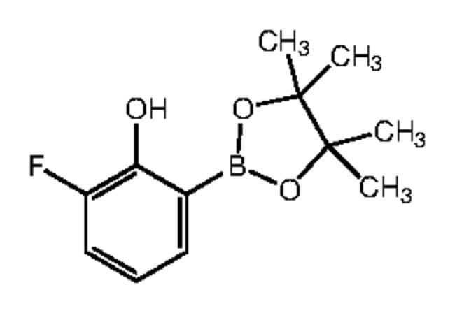 Alfa Aesar™3-Fluoro-2-hydroxybenzeneboronic acid pinacol ester, 96%