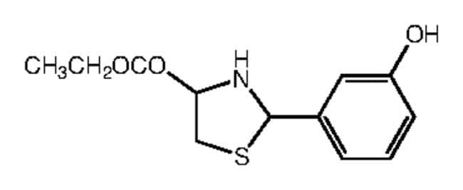 Alfa Aesar™Ethyl 2-(3-hydroxyphenyl)thiazolidine-4-carboxylate, 97% 250mg Ver productos