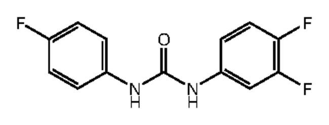 Alfa Aesar™1-(3,4-Difluorophenyl)-3-(4-fluorophenyl)urea, 97% 1g Ver productos