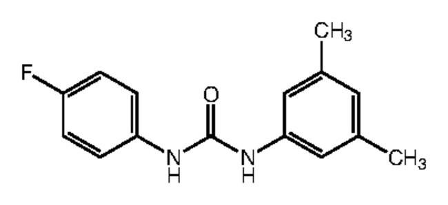 Alfa Aesar™1-(3,5-Dimethylphenyl)-3-(4-fluorophenyl)urea, 97% 1g products