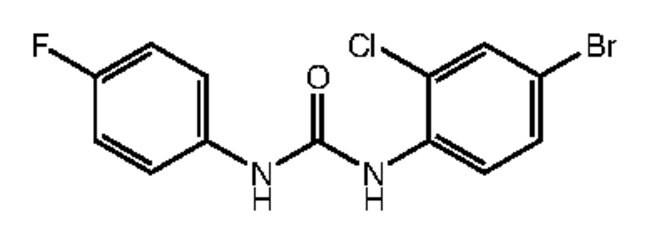 Alfa Aesar™1-(4-Bromo-2-chlorophenyl)-3-(4-fluorophenyl)urea, 97%: Inicio